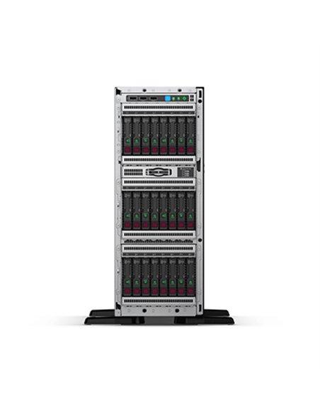 SERVER HP 877623-421 ML350 GEN10 TOWER 2XEON 12C 5118 2.3GHZ 32GBDDR4 P408I-A NOHDD 8X2.5 HS NOODD 4GLAN 2X800W GAR 3 FINO:31/01