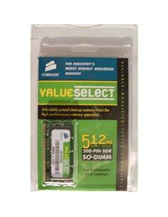 ESP.NB DDR SO-DIMM 512MB PC-2700/333MHZ CORSAIR - VS512SDS333