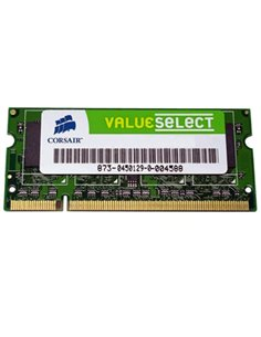 ESP.NB DDR2 SO-DIMM 1GB PC-5300/667MHZ CORSAIR - VS1GSDS667D2