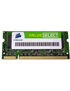 ESP.NB DDR SO-DIMM 1GB PC-3200 400/333MHZ CORSAIR - VS1GSDS400