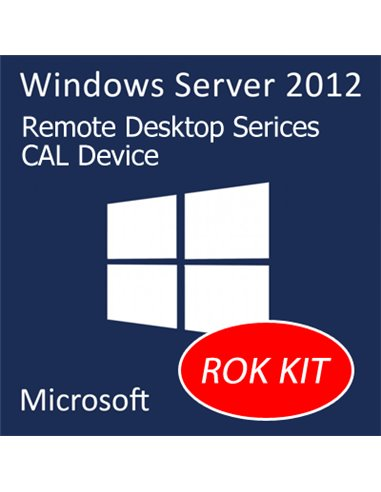 OPT LENOVO SW 0C19611 WINDOWS SERVER 2012 REMOTE DESKTOP SERVICES CLIENT ACCESS LICENSE (1 DEVICE) FINO:29/02