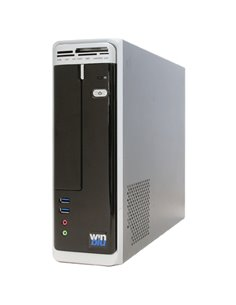 CABINET ATX MIDDLE TOWER THERMALTAKE VERSA H24 3X5.25 3X3.5 O 3+3X2.5 1USB3 1USB2 7SLOT COLORE NERO NO ALIM