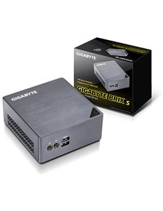 BAREBONE GIGABYTE GB-BSI3H-6100 CORE I3-6100U 2.30GHZ 2XSODIMM DDR3L 1XSATA3+1XM.2 HDMI+MINIDP GLAN+WIFI+BT 4USB3 VESA