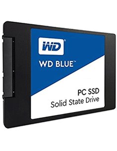 """SSD-SOLID STATE DISK 2.5"""" 500GB SATA3 WD BLUE WDS500G1B0A READ:545MB/S-WRITE:525MB/ S"""