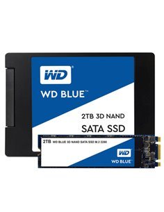 "SSD-SOLID STATE DISK 2.5"" 250GB SATA3 WD BLUE WDS250G2B0A READ:540MB/S-WRITE:500MB/ S"