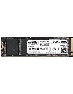 SSD-SOLID STATE DISK M.2(2280) 500GB PCIE3.0X4-NVME CRUCIAL P1 CT500P1SSD8 READ:1900MB/S-WRITE:950MB /S