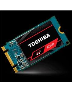 SSD-SOLID STATE DISK M.2(2242) 240GB PCIE3.0X4-NVME1.3 TOSHIBA RC100-M22242-240G RC100 READ:1600MB/S-WRITE:1050M B/S