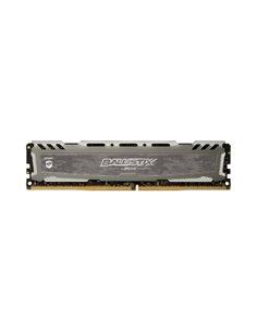 DDR4 8GB 2400MHZ BLS8G4D240FSBK CRUCIAL BALLISTIX SPORT GRIGIO CL16 DUALRANK