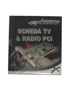 SCHEDA TV TUNER PCI EXTREME TELECOMANDO RADIO
