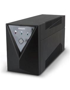 UPS ATLANTIS A03-SX80 600VA/300W LINE INTERACTIVE AVR - BATTERY STABILIZ.CON PRESA 1 SCHUKO ED 1 IEC-GARANZIA 2 ANNI