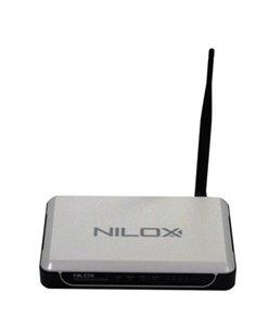 WIRELESS BUNDLE NILOX  ROUTER ADSL 11G + NIC USB WIRELESS 11G NILOX 16NX210112001 - GARANZIA 2 ANNI-