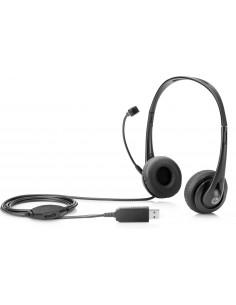 HP Inc HP STEREO USB HEADSET Cuffie Stereo USB HP T1A67AA 0889894467591 Cuffie e Auricolari