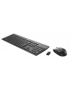 HP Inc HP SLIM WIRELESS KB AND MOUSE Tastiera e mouse USB HP T6L04AAABZ 0889894647955 Tastiere e mouse