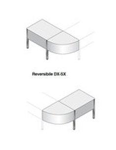 SCRIVANIA ANGOLO 90° + SCRIVANIA 80X100 REVERSIBILE DX/SX SPESE TRASPORTO DA QUANTIFICARE