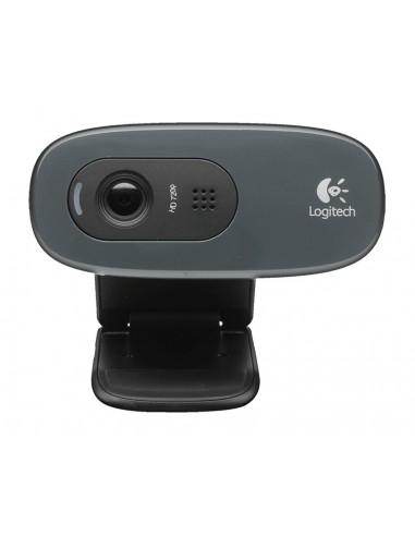 Nero LOGITECH B525 da 2 Megapixel HD Webcam microfono incorporato