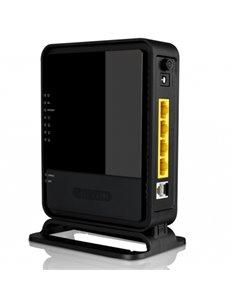 WIRELESS ROUTER N300 ADSL2+SITECOM WLM-2600 NERO 4P FAST ETHERNET-802.11BGN-300M-P UL.OPS-GAR.10 ANNI