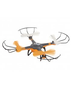 DRONE GOCLEVER GCDHDF CAM WIFI 6-AXIS CONTROL 100MT 30MIN AUTORIENTRO 36X36X8.5 3XBATTERY 8XSPAREPARTS