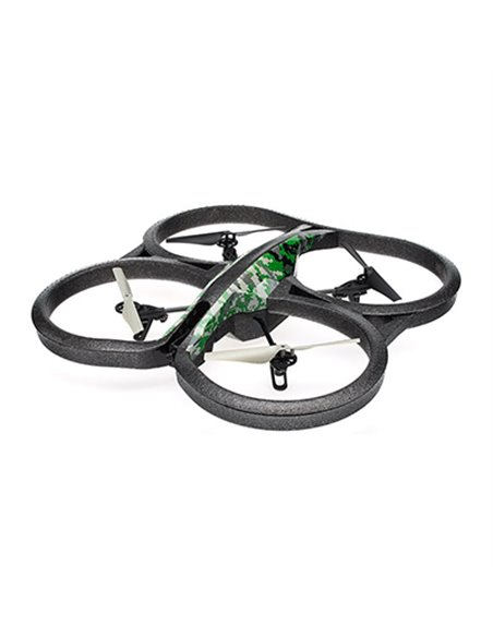 DRONE PARROT AR DRONE 2.0 ELITE JUNGLE QUADRICOTTERO WIFI CAM720P CONTROL 50M COMP. ANDROID/APPLE BATT 1000MAH