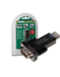 ADATTATORE USB2.0/SERIALE RS232 DIGITUS DA70156 9 PIN MASCHIO - CAV.PROLUNGA CM.80 INCLUSO-EAN: 4016032271611