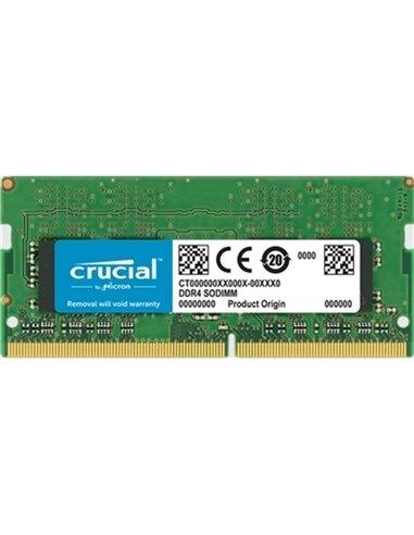 ESP.NB DDR4 SO-DIMM  8GB 2666MHZ CT8G4SFS8266 CRUCIAL CL19 SINGLE RANK