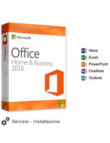 Servizio Installazione Microsoft OFFICE 2016 HOME & STUDENT