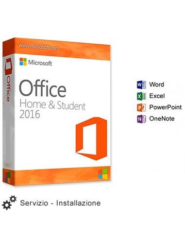 Servizio Installazione Microsoft OFFICE 2016 HOME & BUSINESS
