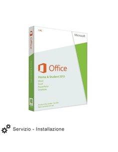 Servizio Installazione Microsoft OFFICE 2013 HOME & BUSINESS