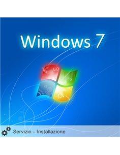Servizio Installazione Windows 7 HOME 64Bit ITA