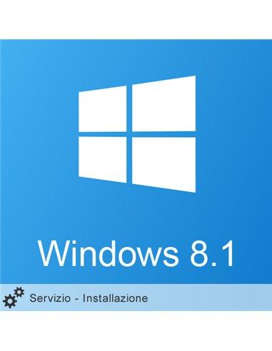 Servizio Installazione Windows 8.1 HOME 64Bit ITA