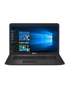 """NB ASUS X756UX-T4026T 17.3""""FHD AG DARK BROWN I7-6500U 8GBDDR3 1TB W10 VGA GTX950M-2GB ODD WIFI BT CAM GLAN CARDR 4USB HDMI 1Y"""