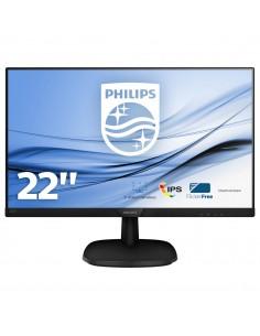 "MONITOR PHILIPS LCD IPS LED 21,5"" WIDE 223V7QDSB 00 4MS SOFTBLUE FHD 1000 1 BLACK VGA DVI HDMI VESA  FINO 04 12"
