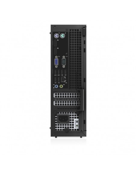 DELL OptiPlex 7020 Intel® Core™ i5 di quarta generazione i5-4590 8 GB DDR3-SDRAM 128 GB SSD SFF Nero PC Windows 7 Professional
