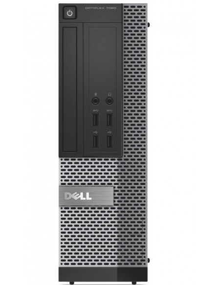 DELL OptiPlex 7020 Intel® Core™ i5 di quarta generazione i5-4590 4 GB DDR3-SDRAM 128 GB SSD SFF Nero PC Windows 7 Professional
