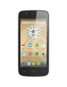 "SMARTPHONE PRESTIGIO DUALSIM-DS PSP5504DUO BLACK 5"" IPS QHD MT6582M QC 1,3GHZ RAM1GB 8GB+MSD 8+2MPX AND.4.4"