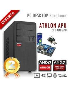 PC AMD Athlon X4 5150 Quad Core/Ram 2GB/PC Assemblato Barebone Computer Desktop