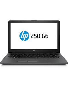 "NB HP 250 G6 1WY61EA 15.6""HD BLACK I5-7200U 1X4DDR4 2133MHZ 500GB FREEDOS ODD CAM GLAN BT4.2 4USB HDMI VGA 1Y"