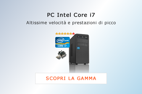 PC Intel Core i7 - Computer Desktop PC Assemblati Intel i7