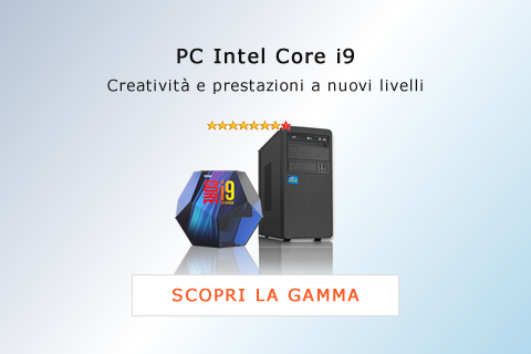 PC Intel Core i9 - Computer Desktop PC Assemblati Intel i9
