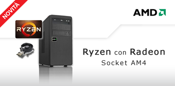 PC AMD Ryzen con Radeon